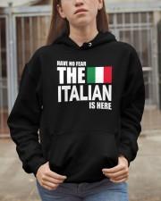 Italian Is Here Hooded Sweatshirt apparel-hooded-sweatshirt-lifestyle-07