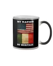 Italian Heritage Color Changing Mug thumbnail