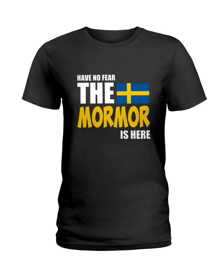 Swedish Mormor Ladies T-Shirt