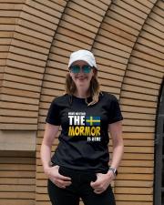 Swedish Mormor Ladies T-Shirt lifestyle-women-crewneck-front-4