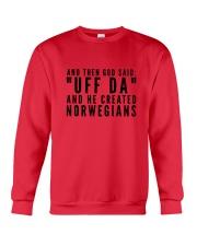 Norwegian Uff Da Crewneck Sweatshirt thumbnail