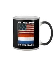Dutch Nation Heritage Color Changing Mug thumbnail