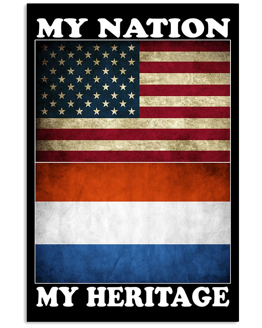 Dutch Nation Heritage 11x17 Poster