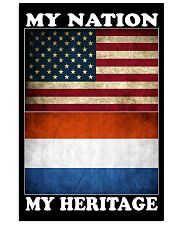 Dutch Nation Heritage 11x17 Poster front