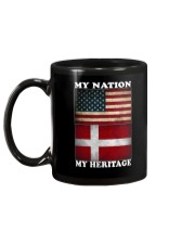 Danish Nation Heritage Mug back