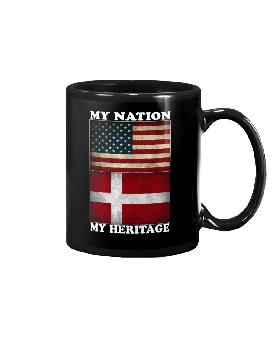 Danish Nation Heritage Mug