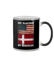 Danish Nation Heritage Color Changing Mug thumbnail