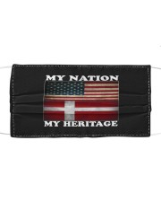 Danish Nation Heritage Cloth face mask thumbnail