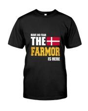 Danish Farmor Is Here Classic T-Shirt thumbnail
