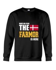 Danish Farmor Is Here Crewneck Sweatshirt thumbnail