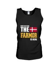 Danish Farmor Is Here Unisex Tank thumbnail