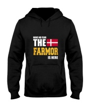 Danish Farmor Is Here Hooded Sweatshirt thumbnail