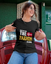 Danish Farmor Is Here Ladies T-Shirt apparel-ladies-t-shirt-lifestyle-01