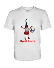 Finnish Christmas 3 V-Neck T-Shirt thumbnail