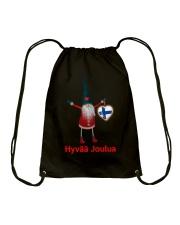 Finnish Christmas 3 Drawstring Bag thumbnail