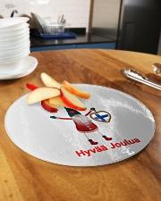 Finnish Christmas 3 Circle Cutting Board aos-cuttingboard-circle-large-lifestyle-01