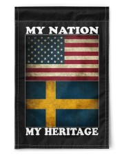 "Swedish Nation Heritage 11.5""x17.5"" Garden Flag front"