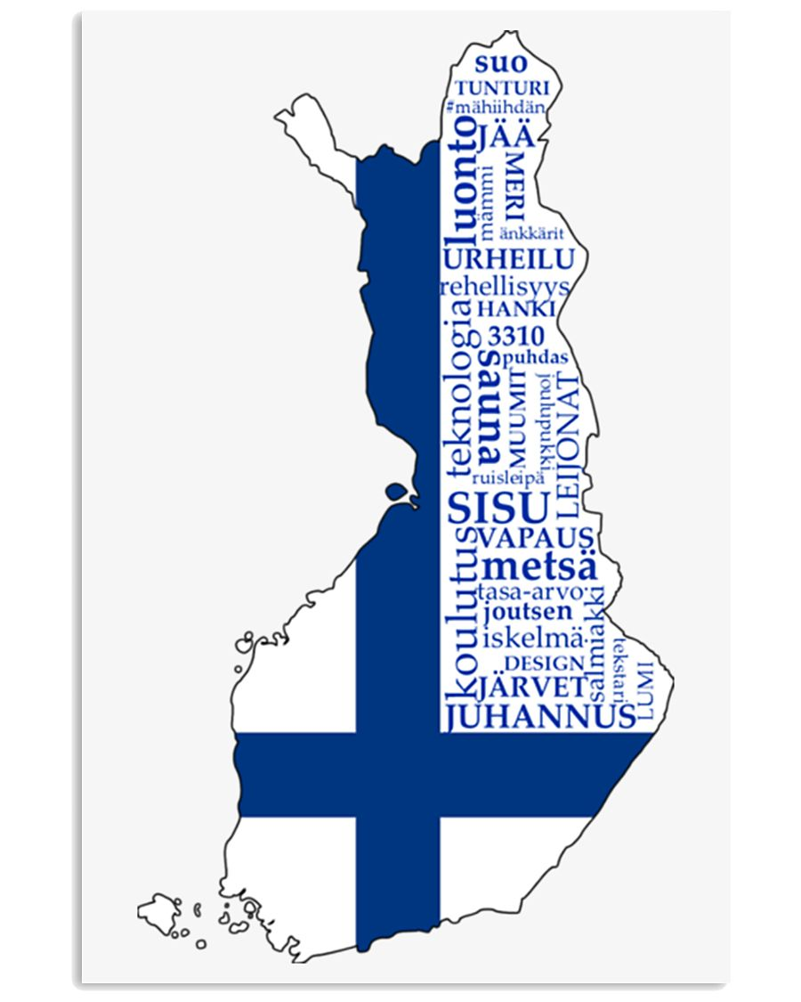 Finland Flag 11x17 Poster