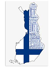 Finland Flag 11x17 Poster front