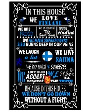Finland House 11x17 Poster front