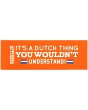 Dutch Chick Yoga Mat 70x24 (horizontal) thumbnail