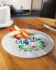 Norway Uff Da Circle Cutting Board aos-cuttingboard-circle-large-lifestyle-01