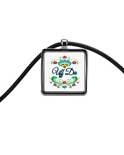 Norway Uff Da Cord Rectangle Necklace thumbnail