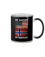 Norwegian Nation Heritage Color Changing Mug thumbnail