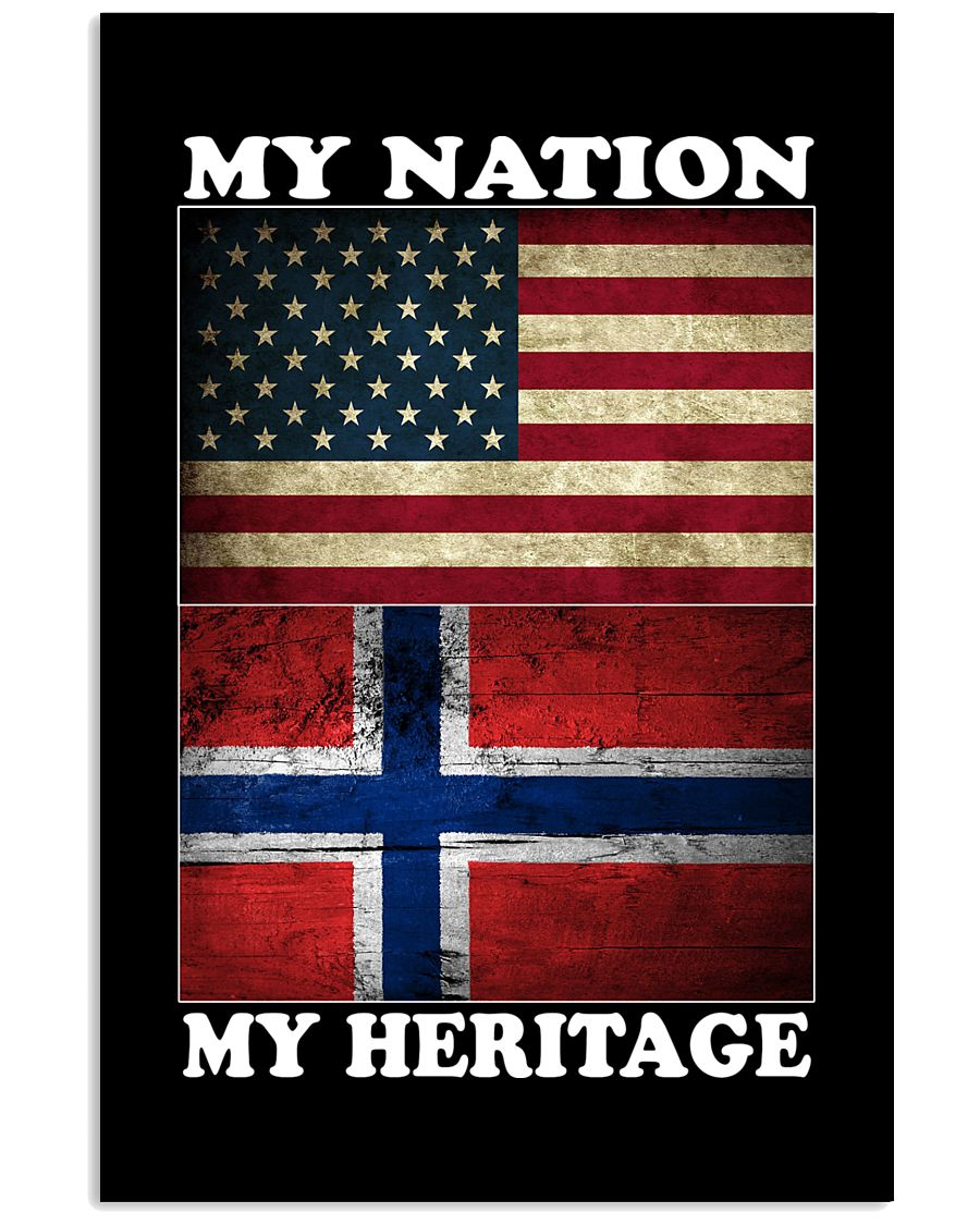 Norwegian Nation Heritage 11x17 Poster