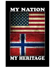 Norwegian Nation Heritage 11x17 Poster front