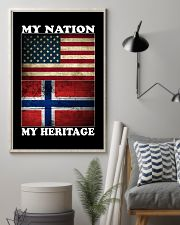 Norwegian Nation Heritage 11x17 Poster lifestyle-poster-1