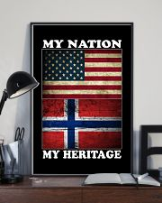 Norwegian Nation Heritage 11x17 Poster lifestyle-poster-2