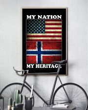 Norwegian Nation Heritage 11x17 Poster lifestyle-poster-7