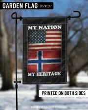 "Norwegian Nation Heritage 11.5""x17.5"" Garden Flag aos-garden-flag-11-5-x-17-5-lifestyle-front-12"