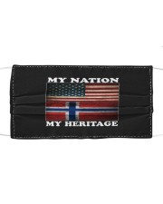 Norwegian Nation Heritage Cloth face mask thumbnail