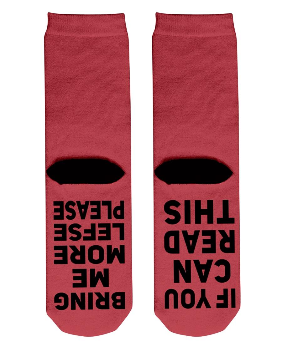 Lefse Socks Crew Length Socks
