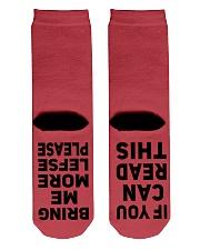 Lefse Socks Crew Length Socks back