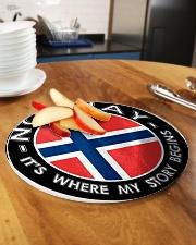 Norwegian Story Circle Cutting Board aos-cuttingboard-circle-large-lifestyle-01