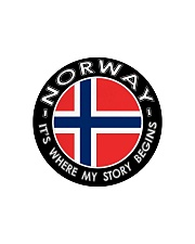 Norwegian Story Circle Cutting Board front