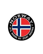 Norwegian Story Circle Magnet thumbnail