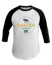 Swedish Town Baseball Tee thumbnail