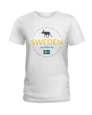Swedish Town Ladies T-Shirt thumbnail