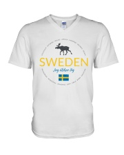 Swedish Town V-Neck T-Shirt thumbnail