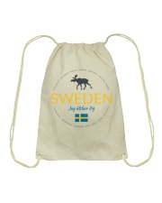 Swedish Town Drawstring Bag thumbnail