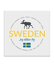Swedish Town Square Coaster front
