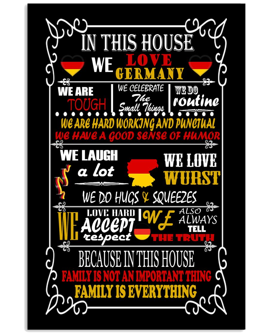 Germany House 11x17 Poster