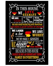Germany House 11x17 Poster front