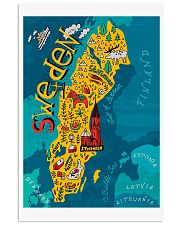 Sweden Map 11x17 Poster front