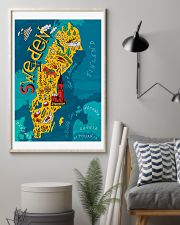 Sweden Map 11x17 Poster lifestyle-poster-1