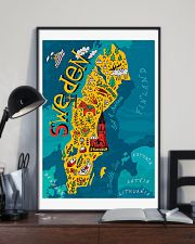 Sweden Map 11x17 Poster lifestyle-poster-2